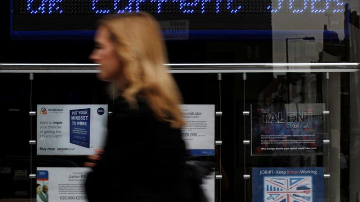 UK jobs growth jumps again despite broader economic slowdown